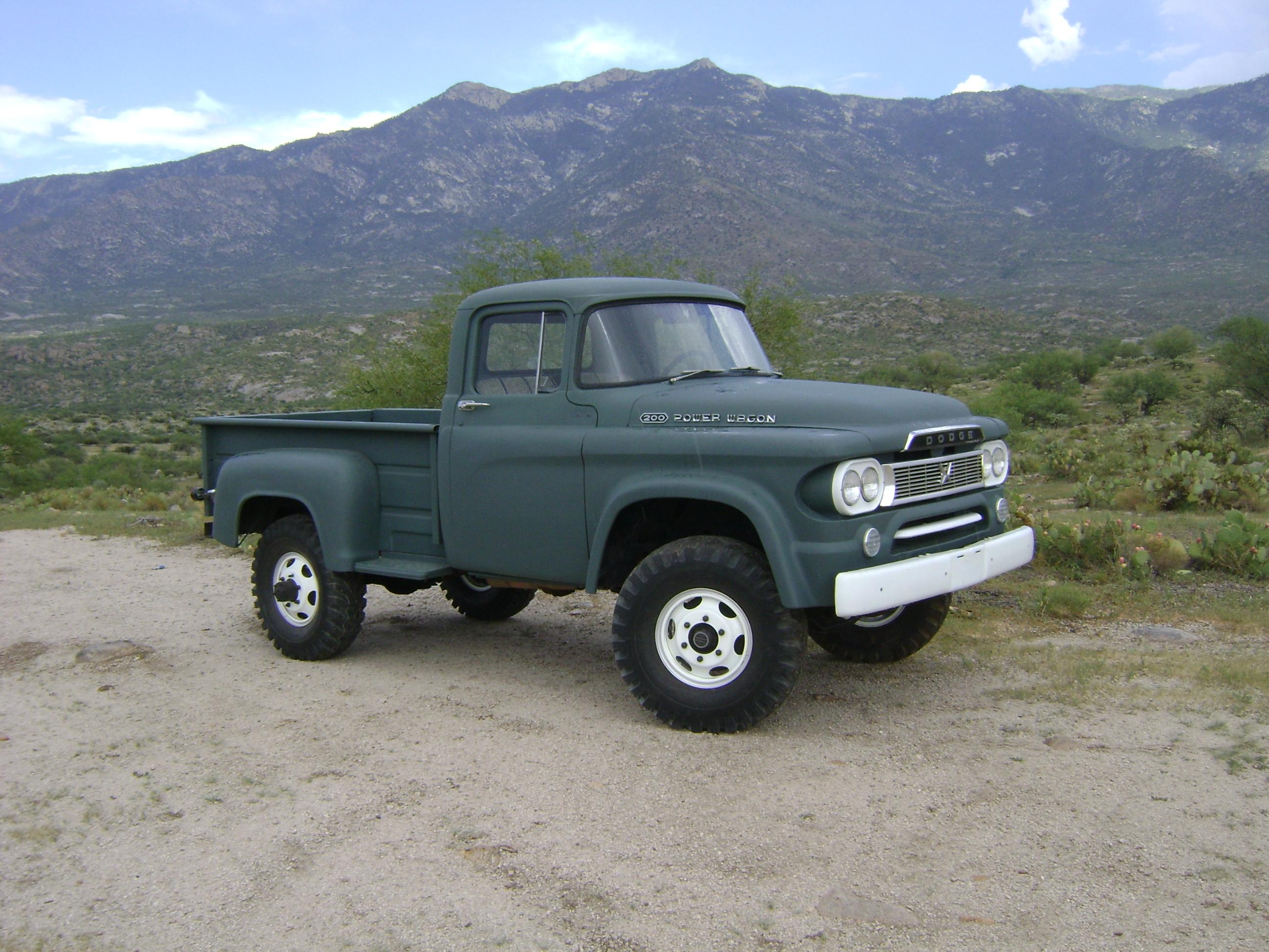 1959 Dodge Power Wagon W200 for sale